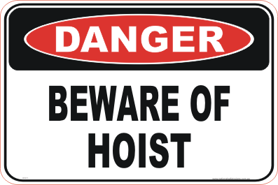 Beware of hoist