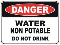unpotable water