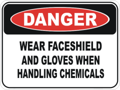Wear faceshield