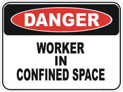 Confined space worker