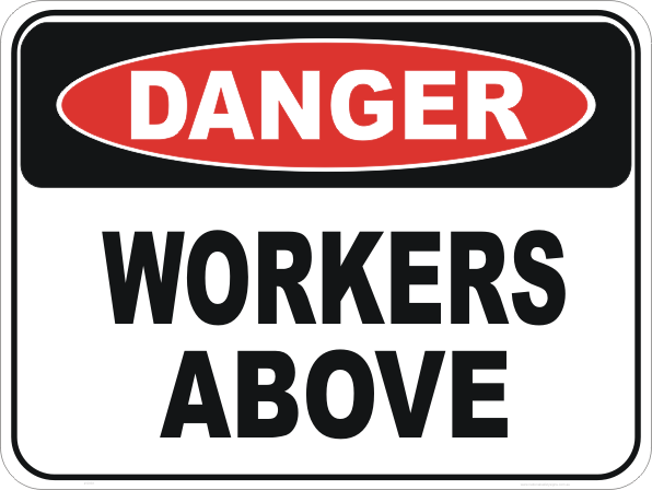 workers above