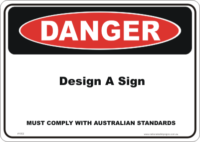 Design a Danger sign
