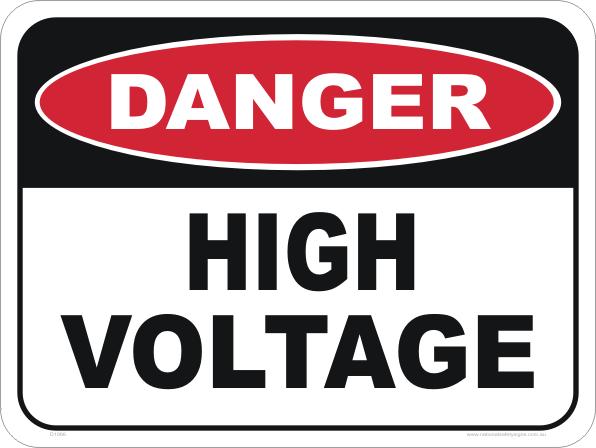 Danger High Voltage Sign Danger Signs