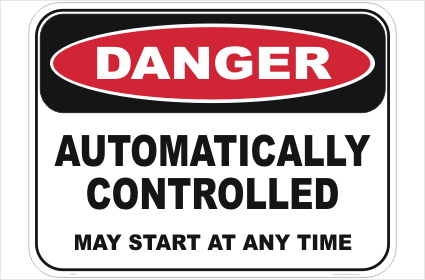 Automatically Controlled sign