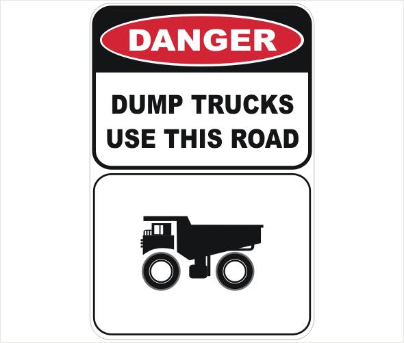 dump trucks