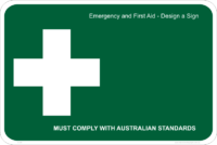Emergency Design a Sign