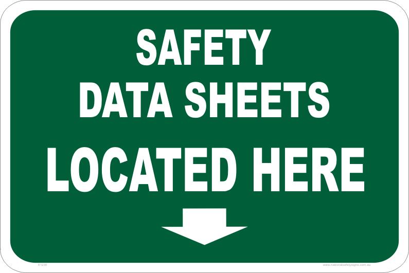 sds, msds, safety data sheets