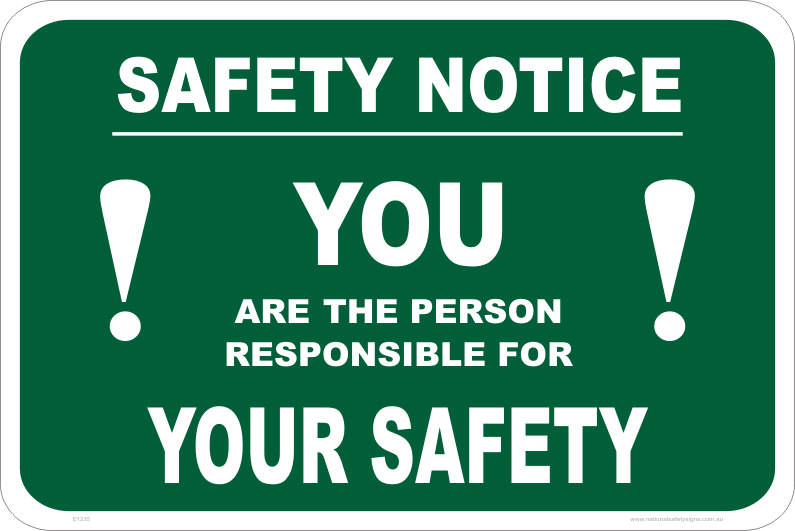 emergency safety notice