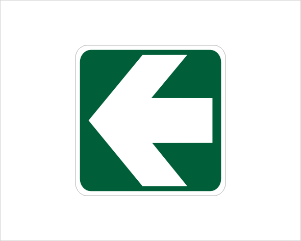 emergency arrow