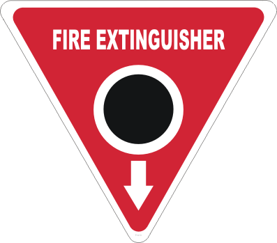 Fire Extinguisher Marker