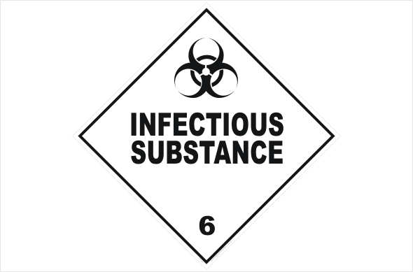 Class 6 Infectious Substance H1526 National Safety Signs