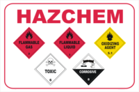 HazChem multi placards