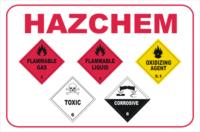 HazChem multi placards