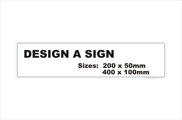 design a sign