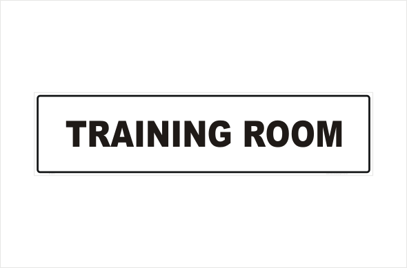 training room in16115 national safety signs