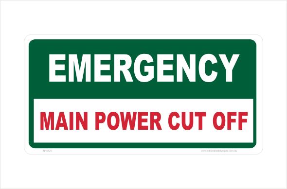 Main Power Cut Off