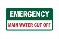 Main Water Cut Off