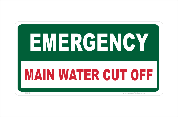 Main Water Cut Off