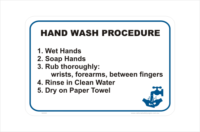 Hand Wash Procedure