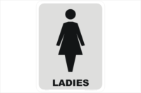ladies toilet