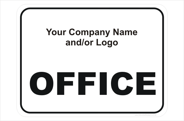 design a sign office