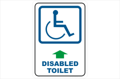 Disabled Toilet, toilet, restroom, bathroom