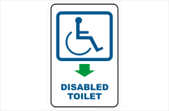 Disabled Toilet, bathroom, restroom