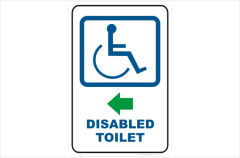 Disabled Toilet ,bathroom, restroom