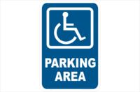 Disabled Parking Area