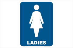 Ladies Toilet, toilet, restroom, bathroom