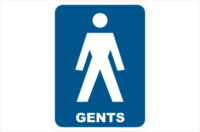 Gents Toilet, toilet, bathroom, restroom