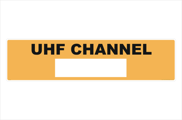 UHF channel