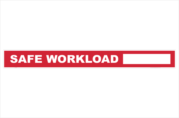 safe work load, swl