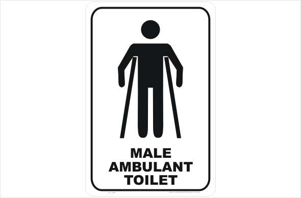 Male Ambulant Toilet