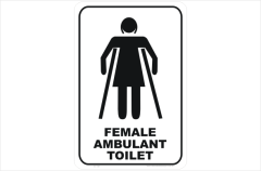 Female Ambulant Toilet
