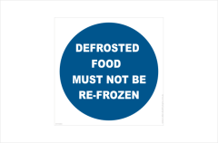 defrosted food