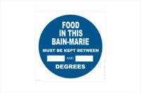Bain-marie Temperature