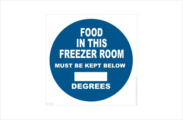 Freezer Room Temperature