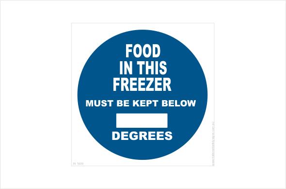 Freezer Temperature