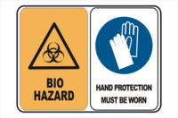 bio hazard hand protection