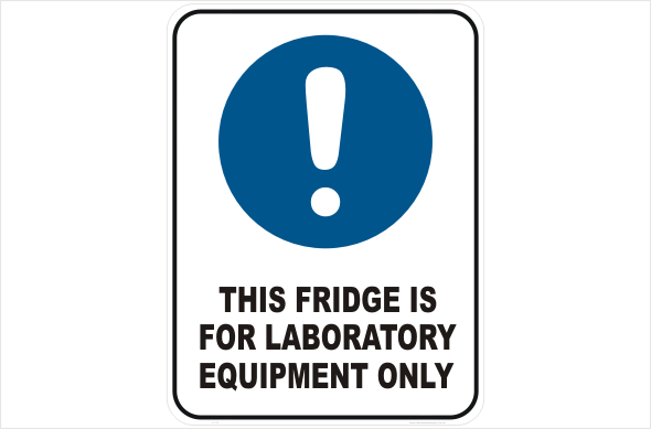 Fridge for Laboratory Equipment