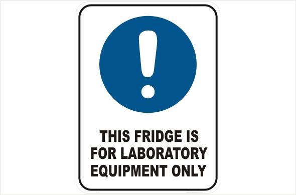 Fridge for Laboratory Equipment