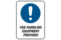 Use Handling Equipment