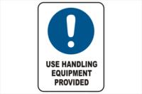 Use Handling Equipment