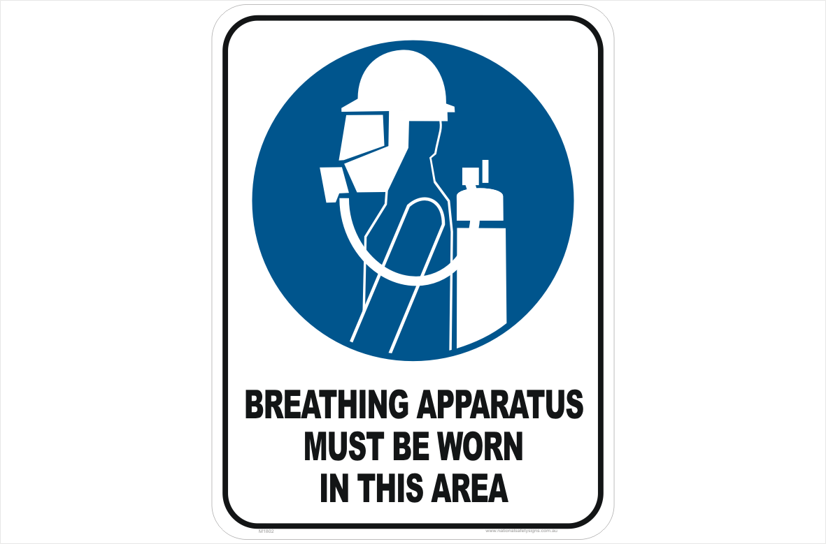 Breathing Apparatus worn this area