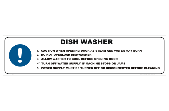 Dishwasher Use