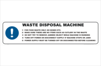 Waste Disposal Machine procedure