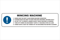 Mincing Machine procedure