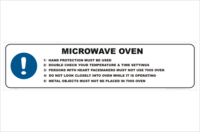 Microwave Oven procedure