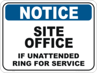 Site Office Signs